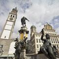 Rathausplatz Augsburg © Tourismusverband Allgäu/Bayerisch-Schwaben