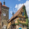 Rothenburg, Am-Siebersturm © Rothenburg Tourismus Service, Willi Pfitzinger