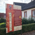 Der märchenhafte Kräutergarten vor dem Museum Brüder Grimm-Haus