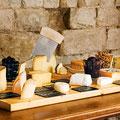 Käse Auswahl im Klosterhotel St. Petersinsel am Bielerste © Schweiz Tourismus/Gian Marco Castelberg & Maurice Haas
