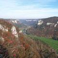 Herbstliche Impression vom Eichfelsen (© Geschäftsstelle Ferienland Hohenzollern e.V.)