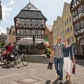 Am Kornmarkt in Wetzlar © Tourist-Information Wetzlar
