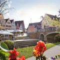Donauwörth an der Romantischen Straße und der Via Claudia Augusta © Tourismusverband Allgäu/Bayerisch-Schwaben
