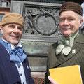Jacob und Wilhelm Grimm - auch heute noch führten Sie im Rahmen von Stadtführungen durch die Stadt