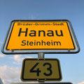 Hanau - 1. Station auf meiner Tour entlang der Deutschen Märchenstraße