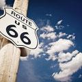 Historic Route 66 Schild (© Andrew Bayda - Fotolia.com)