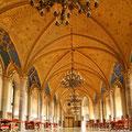 Der Grafensaal auf Burg Hohenzollern (© Geschäftsstelle Ferienland Hohenzollern e.V.)