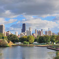 Chicago Skyline - Beginn der Route 66 (© rabbit75_fot - Fotolia.com)