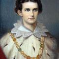 König Ludwig II. (Copyright: Füssen Tourismus und Marketing / Kulturamt der Stadt Füssen)