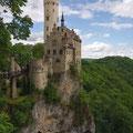 Das Schloss Lichtenstein auf 817 Metern Höhe (© Schwäbische Alb Tourismusverband)