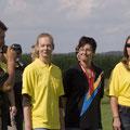 FunFly 2008: Das Girls Team wird vorgestellt