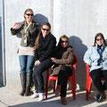 Valencia: Mit Raquel Bellot, ihren Eltern und Freunden