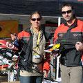 Valencia: Ich mit TT Teamchef aus Spanien Santi Farres