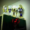 Pokal-Sammlung der A-Gruppe :)