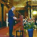 Olaf Scholz am Rednerpult