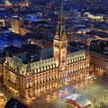 Einladung im Hamburger Rathaus