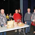 La famille Perche a reçu le premier prix offert par les Pénitents Blancs de Gorbio ainsi qu'un bon repas du restaurant ''Papayé '' de Menton.