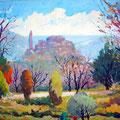 Une peinturue du village