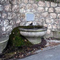 Fontaine dans la vallée de Gorbio