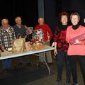 La famille Laurens à reçu le 4ème prix offert par le club de l'Amigansa