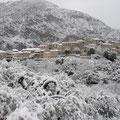 Le village février 2010. Photo Marcel Imbert