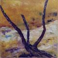 14 - L'arbre mort - huile 60x60