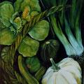 17 - Légumes verts - huile 55x38