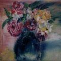 31 - Le bouquet de Marie C - huile 18x24