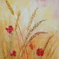 24 - Épis de blé - aquarelle 33x25