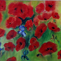 42 - Coquelicots - huile 60x80