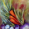 96 - Légumes du jardin - huile 24x18