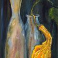 53 - La coloquinte de Françoise - huile 60x30