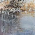 11 - Bords de l'étang - aquarelle inspirée de R. Roycraft 40x30