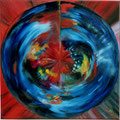 73 - Explosion musicale - huile 30x30