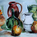 79 - Nature morte - aquarelle 21x27