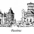 38 - Passirac - encre de chine 12x15