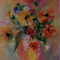 17 - Bouquet de lumière - acrylic 41x33
