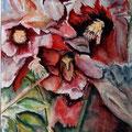 15- Floralies - aquarelle 40x30