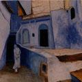 40 - Ruelle marocaine - huile 61x46