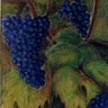 20 - Les raisins de la Gloriette - acrylic 41x33