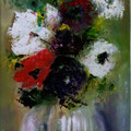 40 - Cadeau floral - huile 33x19
