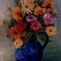 18 - Le pot bleu - acrylic 41x33