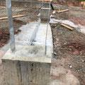 Beginn dritte Woche der Fundamentarbeiten