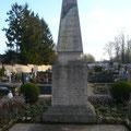 Monument aux morts : face avant