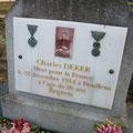 Tombe de Charles DEKER