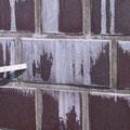 Fassaden Auslaugung