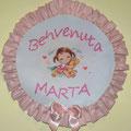 """BENVENUTA MARTA """" BIMBA a CAVALLO """""""