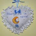 """cuore Alberto fa la nanna """" LUNA con SCARPINE"""""""