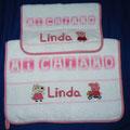 Linda + Peppa Pig