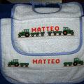 bavaglino + asciugamano MATTEO